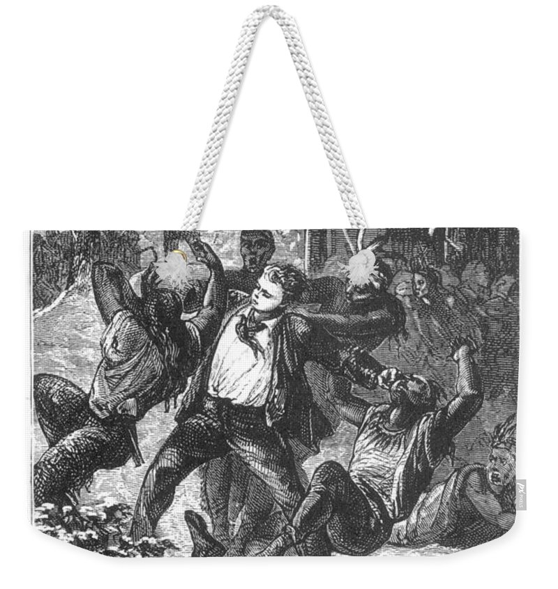 19th Century Weekender Tote Bag featuring the photograph Verne: Around The World by Granger