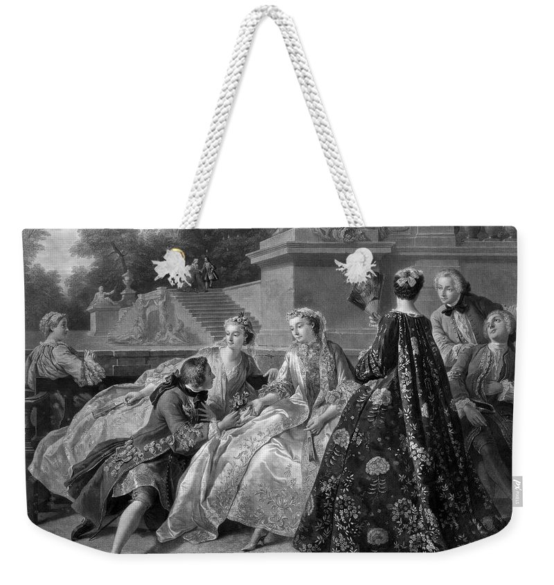 1731 Weekender Tote Bag featuring the photograph Versailles: Court Life by Granger