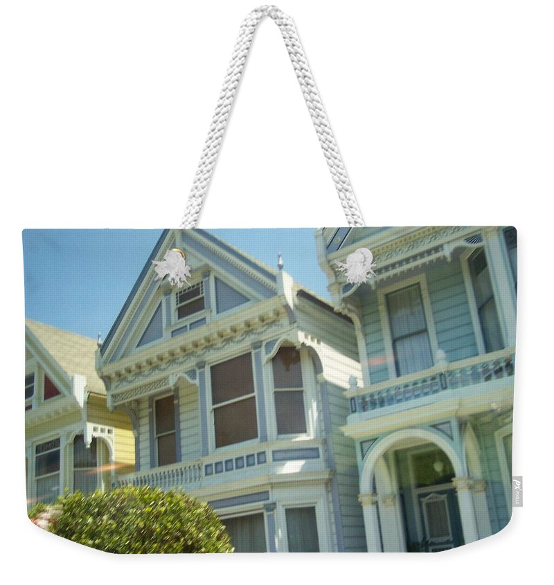Victorians Weekender Tote Bag featuring the photograph Victorians by Pharris Art
