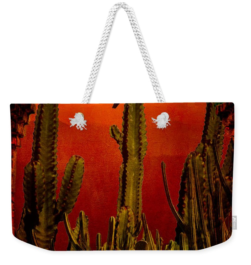 California Weekender Tote Bag featuring the photograph View From The Mission by Chris Lord