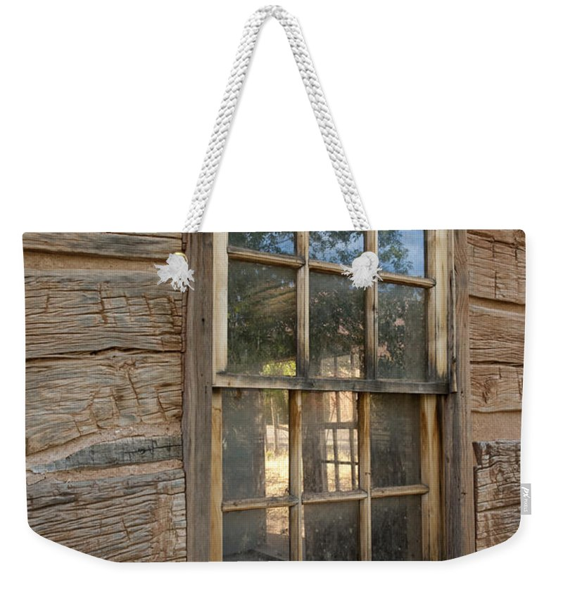 Bronstein Weekender Tote Bag featuring the photograph View To The Past by Sandra Bronstein