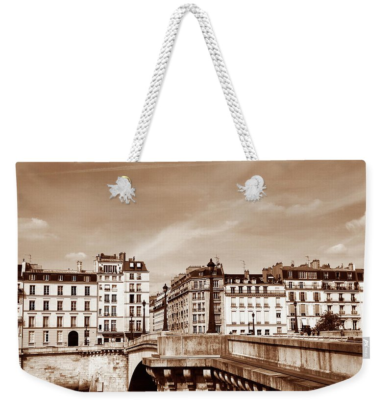 Paris Weekender Tote Bag featuring the photograph Vintage Paris 8 by Andrew Fare