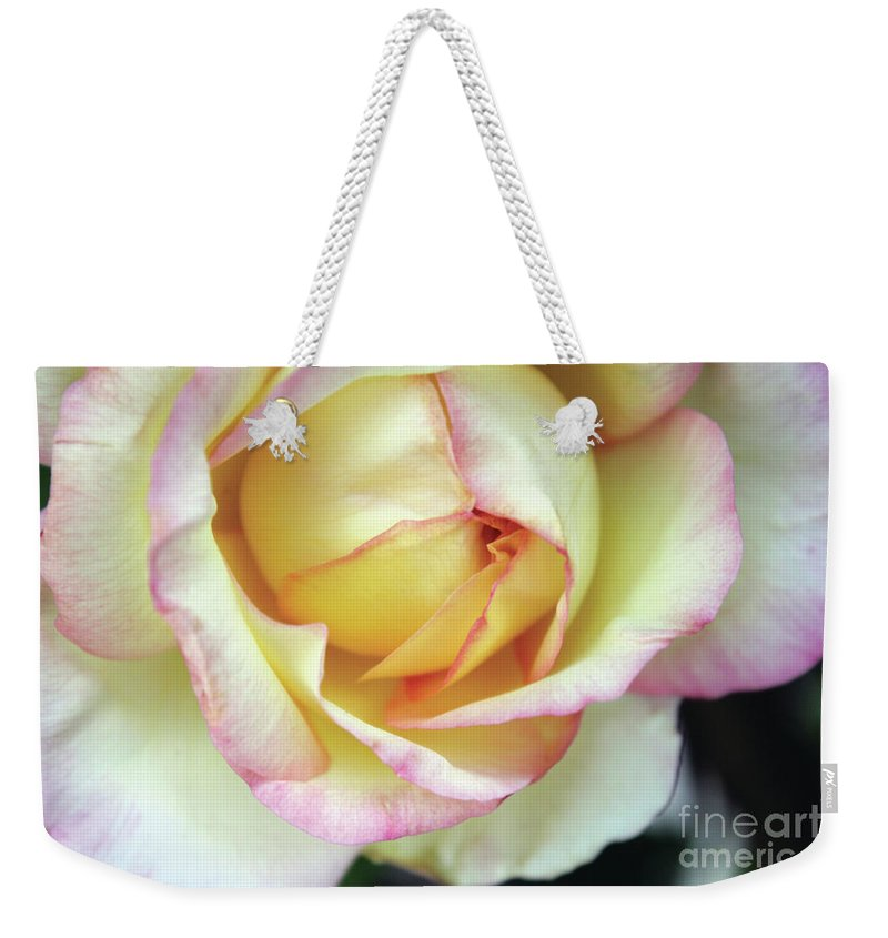 Flora Weekender Tote Bag featuring the photograph Virgin Beauty by Alycia Christine