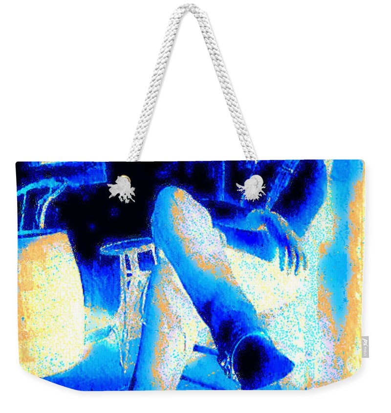 Waiting Up Weekender Tote Bag featuring the photograph Waiting Up by Seth Weaver