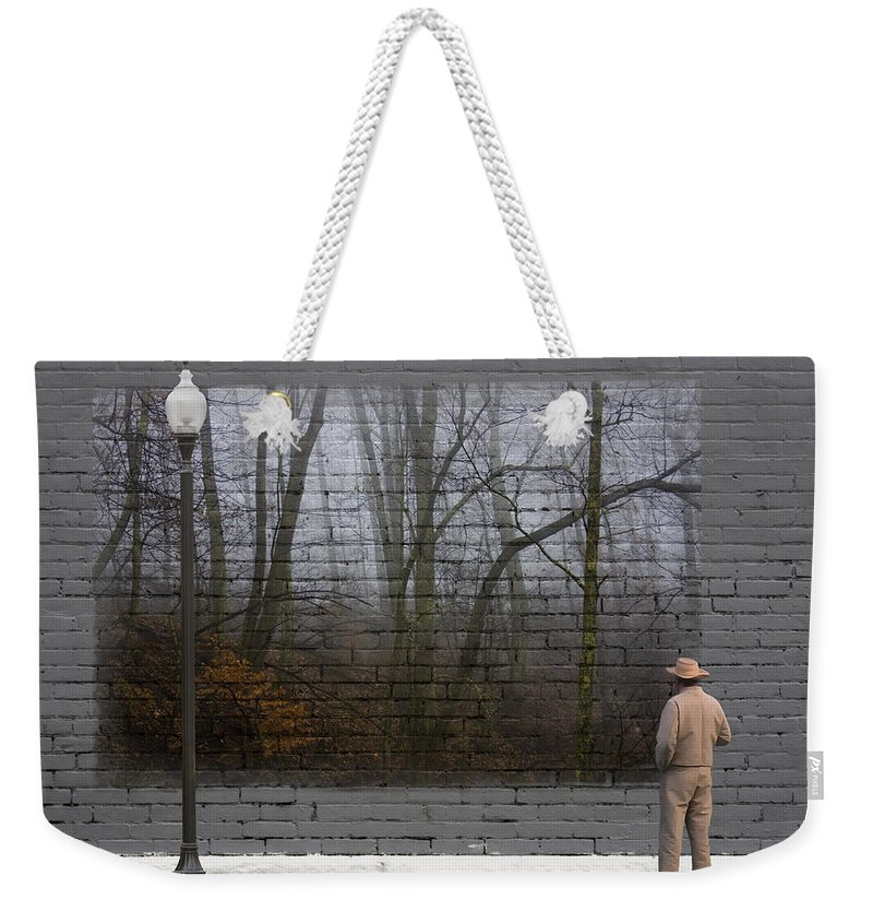 Urban Weekender Tote Bag featuring the photograph Wall Art by Ron Jones