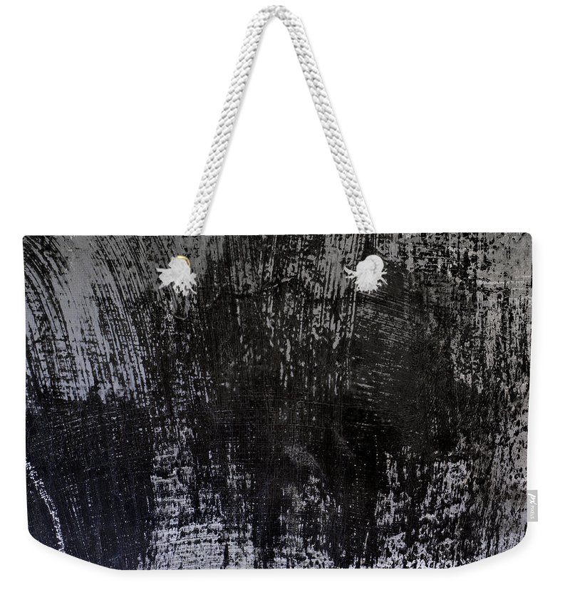 Wall Weekender Tote Bag featuring the photograph Wall Texture Number 7 by Carol Leigh