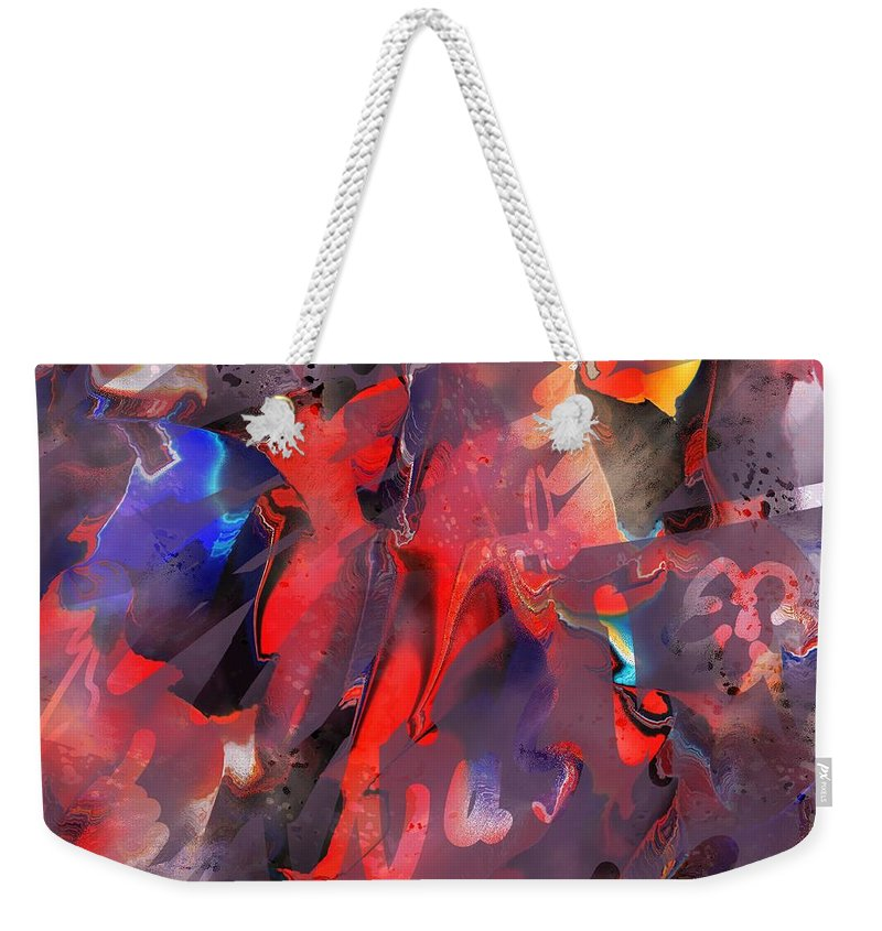 Wash Weekender Tote Bag featuring the photograph Wash Me by Rachel Christine Nowicki