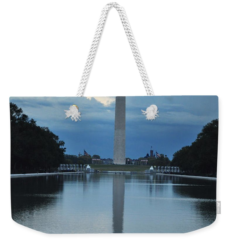 Washington Monument Weekender Tote Bag featuring the photograph Washington Monument by Brittany Horton