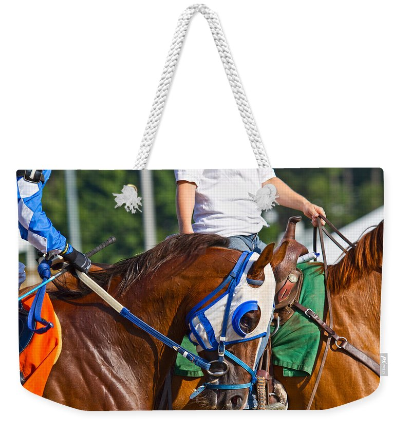 Post Weekender Tote Bag featuring the photograph We Are Going To Win by Betsy Knapp