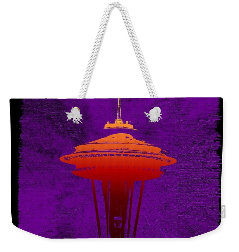 Storm Weekender Tote Bag featuring the digital art Weathering The Storm by Tim Allen
