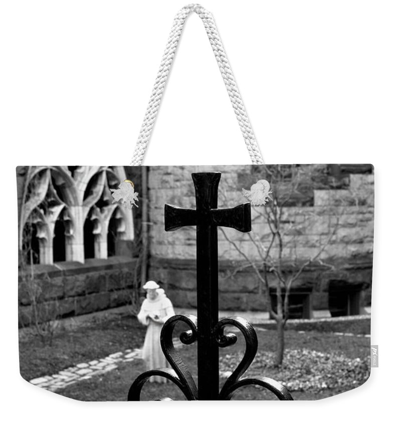 Art Weekender Tote Bag featuring the photograph Welcoming Light by Greg Fortier