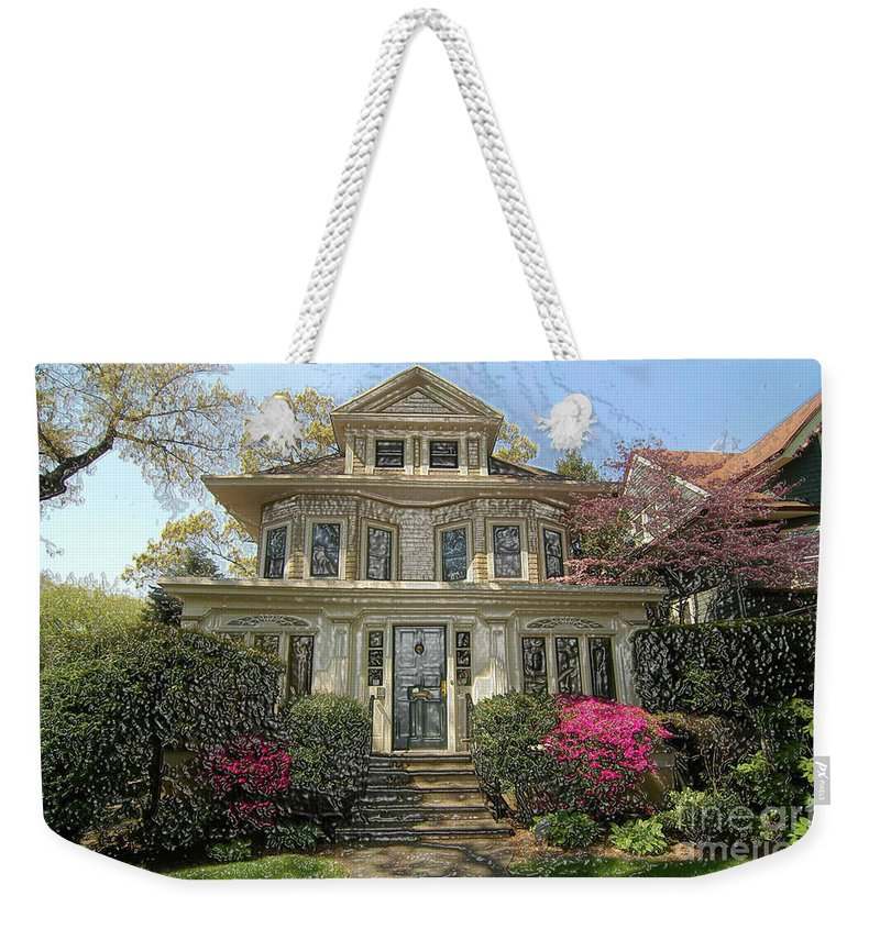 Bklyn Weekender Tote Bag featuring the photograph Wellington Place by Mark Gilman