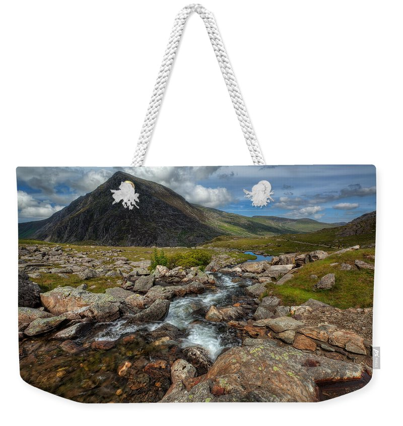 Flowers Weekender Tote Bag featuring the photograph Welsh Valley by Adrian Evans