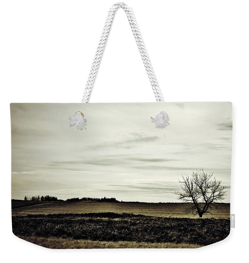 Street Photographer Weekender Tote Bag featuring the photograph Where We Meet by The Artist Project