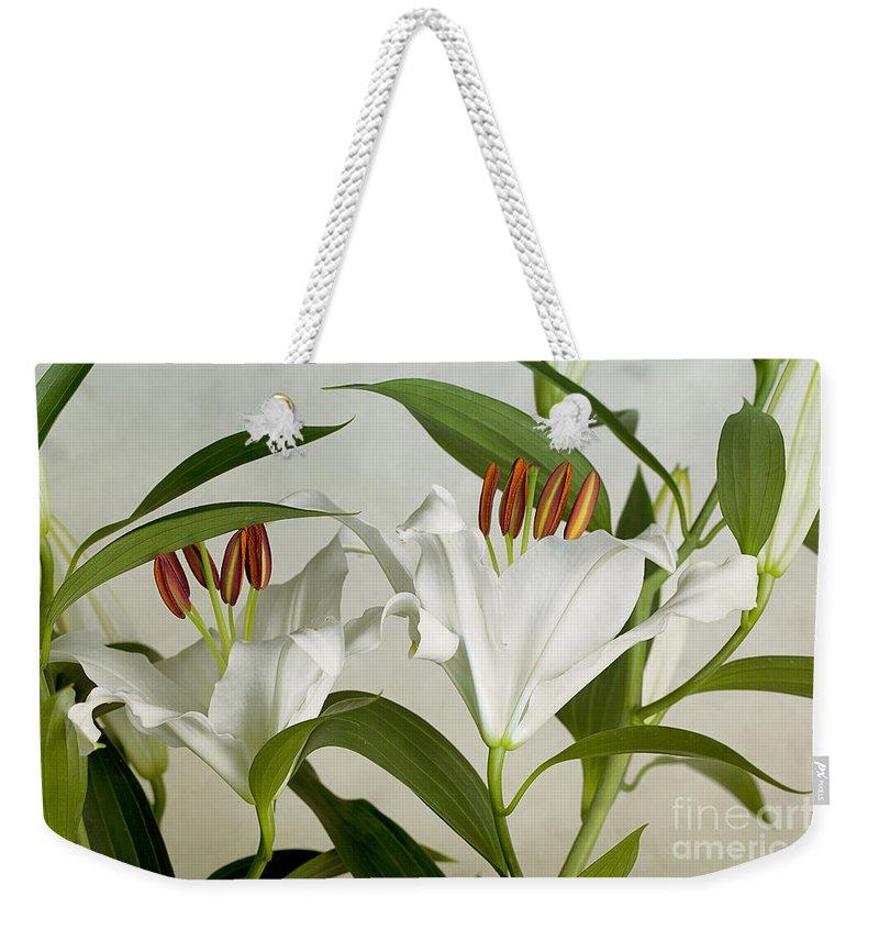 Bouquet Weekender Tote Bags