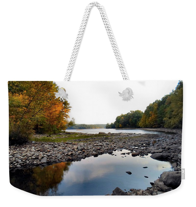 Nature Weekender Tote Bag featuring the photograph Wilderness by Art Dingo