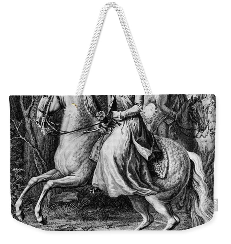 1779 Weekender Tote Bag featuring the photograph Wilhelmina Of Prussia by Granger