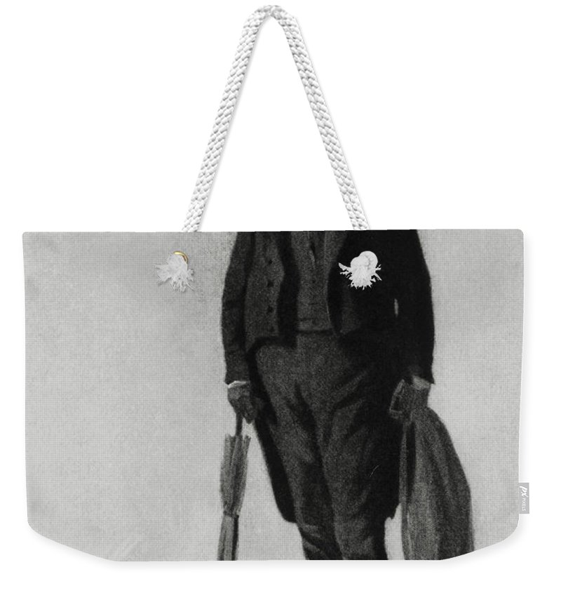Science Weekender Tote Bag featuring the photograph William Buckland, English Paleontologist by Photo Researchers