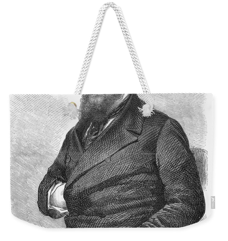 19th Century Weekender Tote Bag featuring the photograph William Howard Russell by Granger