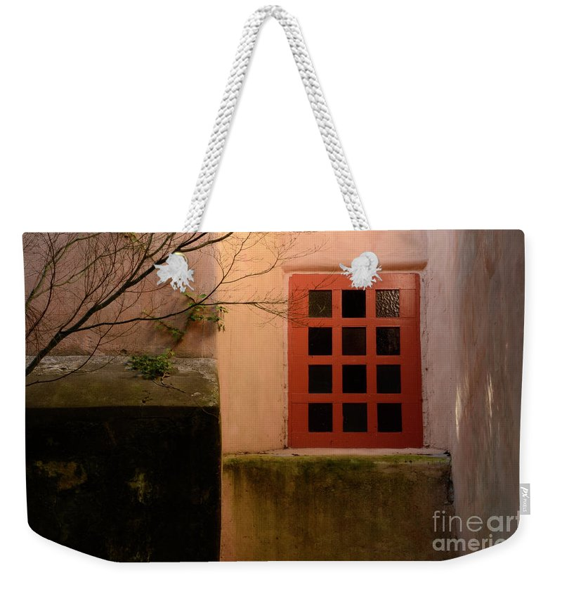 Carmel Weekender Tote Bag featuring the photograph Window Light by Bob Christopher