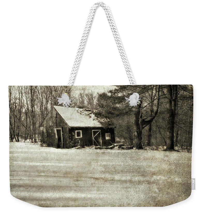 New England Barn Photographs Weekender Tote Bags