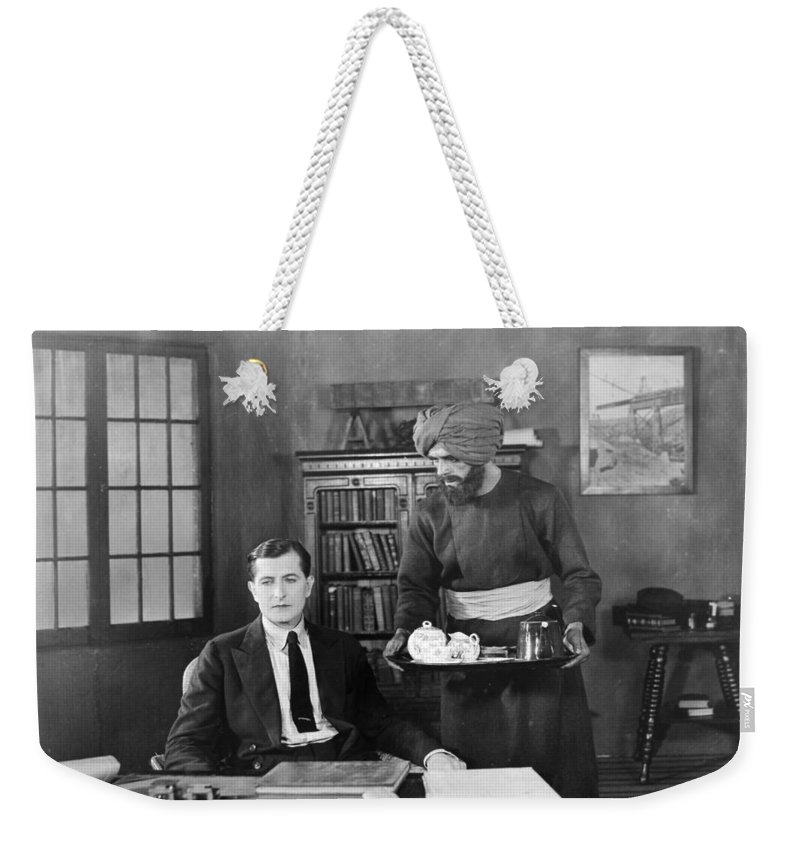 -eating & Drinking- Weekender Tote Bag featuring the photograph Without Benefit Of Clergy by Granger