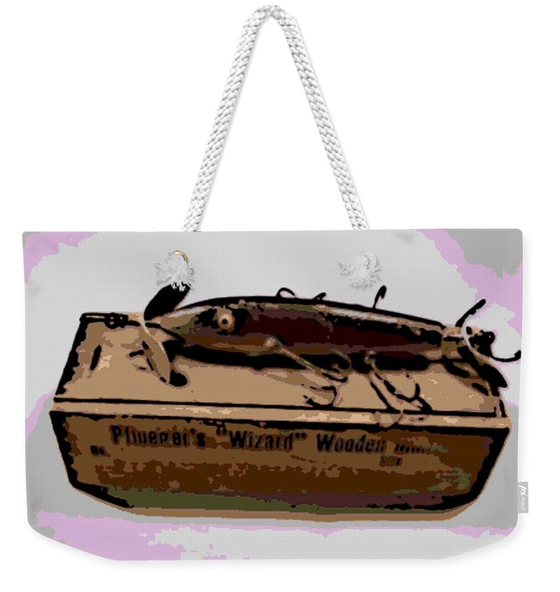 Antique Weekender Tote Bag featuring the photograph Wizard by George Pedro