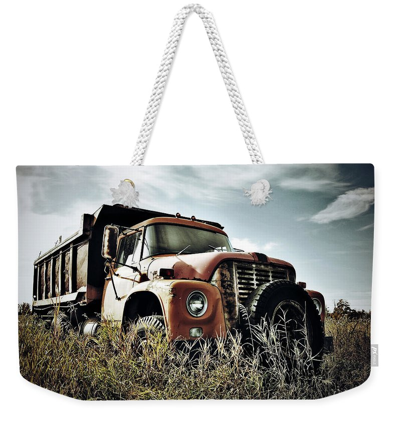 Photographer Weekender Tote Bag featuring the photograph Working Class Field by The Artist Project