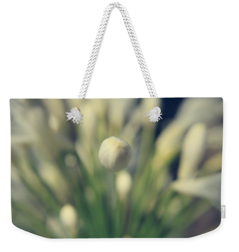 Flowers Weekender Tote Bag featuring the photograph You Surround Me by Laurie Search