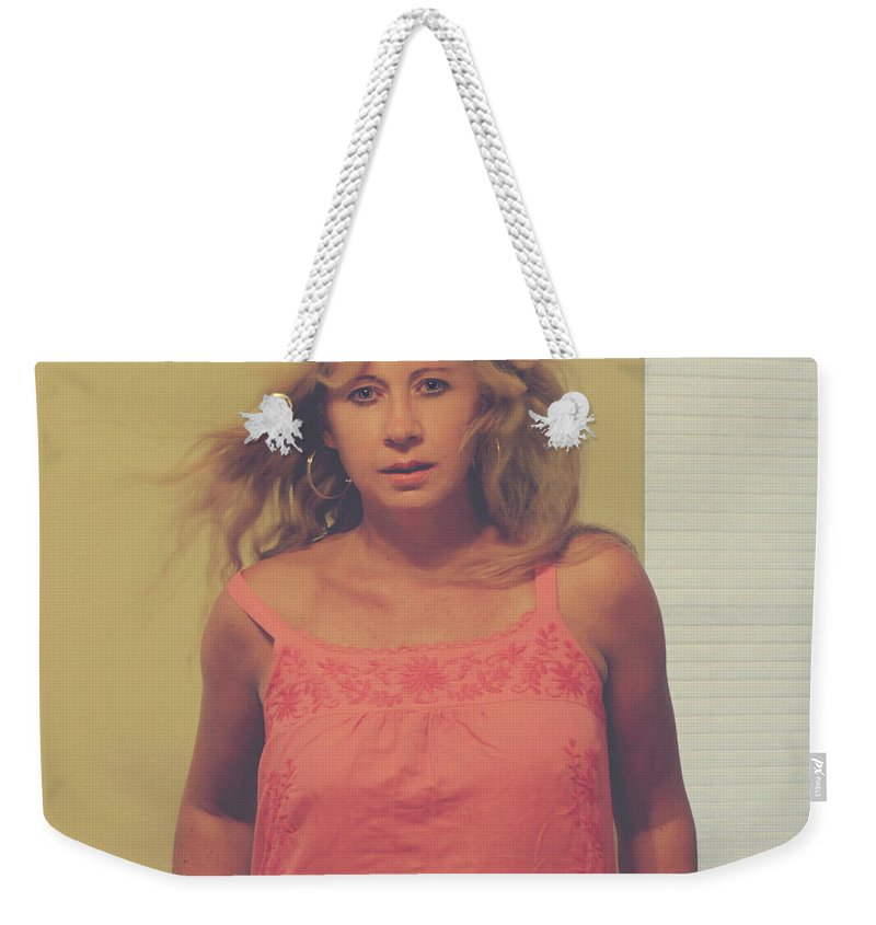 Woman Weekender Tote Bag featuring the photograph You'll Be Here In Me by Laurie Search