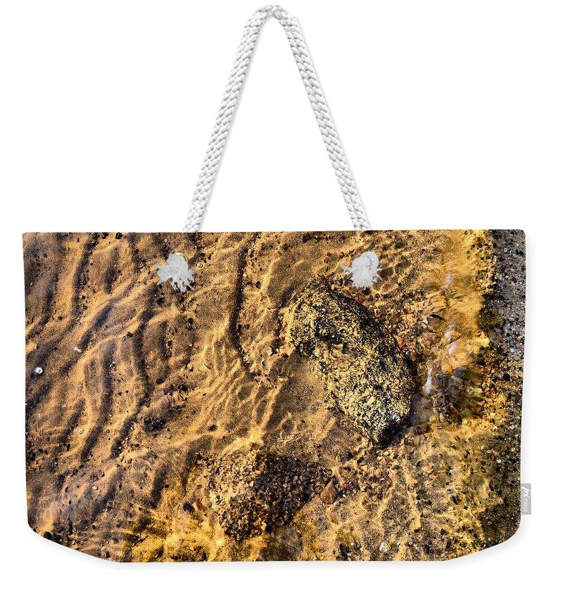 Haukkajärvi Weekender Tote Bag featuring the photograph Lakescape 1 by Jouko Lehto