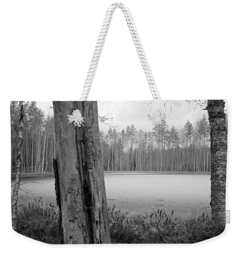Lehtokukka Weekender Tote Bag featuring the photograph Liesilampi 3 by Jouko Lehto
