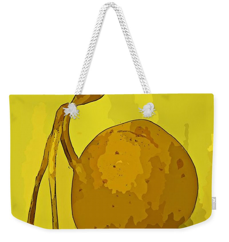 Weird Weekender Tote Bag featuring the photograph Weird by John Malone
