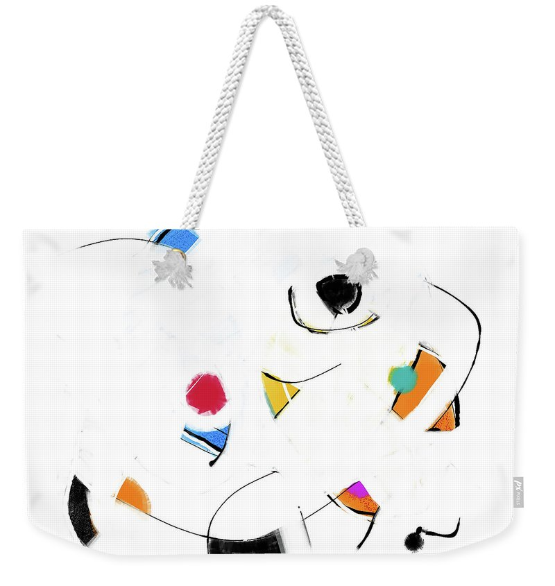 Painting Weekender Tote Bag featuring the painting 000812aa by Toshio Sugawara