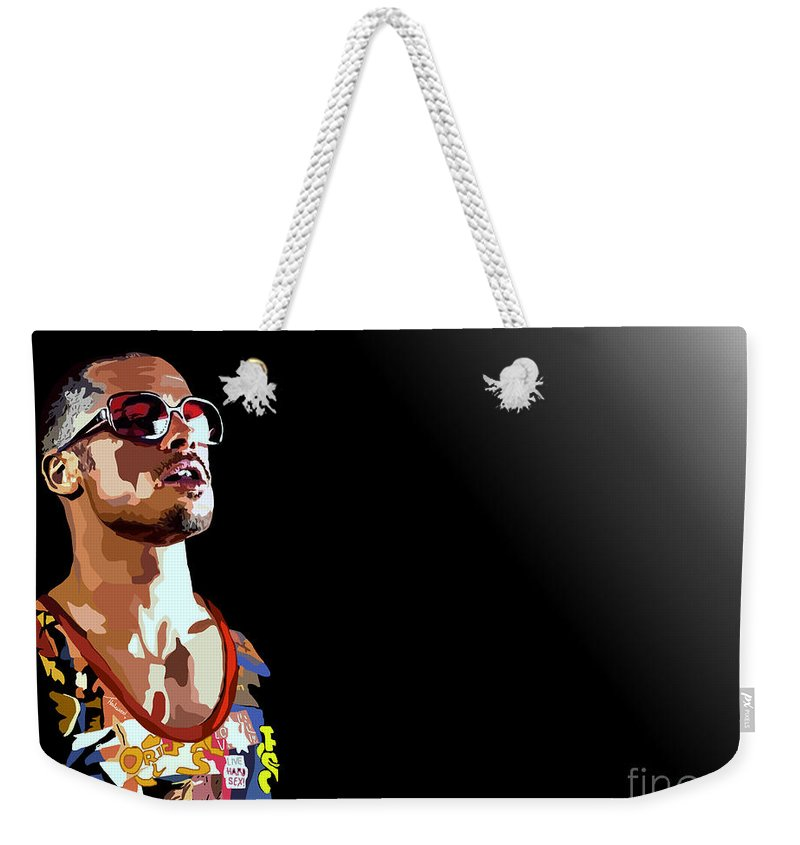 Tamify Weekender Tote Bag featuring the painting 033. We by Tam Hazlewood