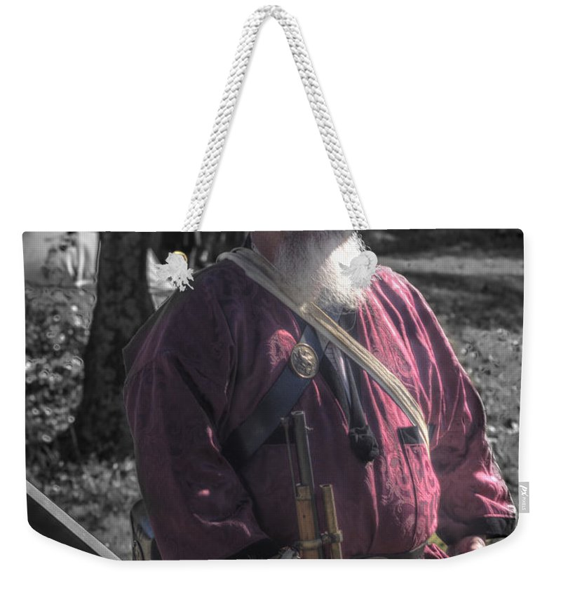Howitzer Weekender Tote Bag featuring the photograph Battle Of Honey Springs V8 by John Straton