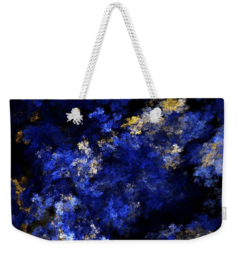 Abstract Digital Painting Weekender Tote Bag featuring the digital art Abstract 11-18-09 by David Lane