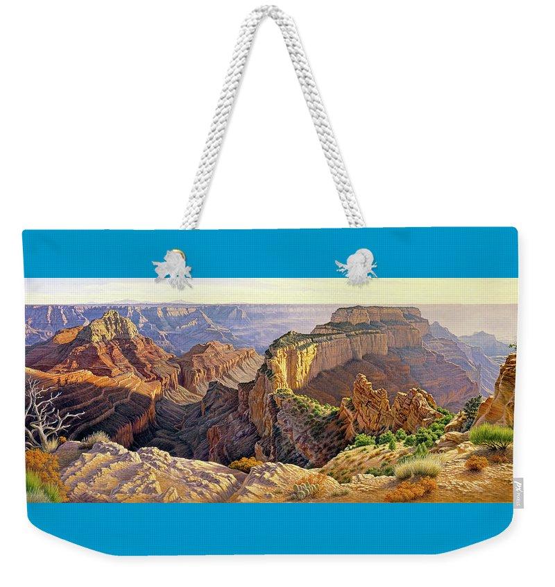 North Rim Weekender Tote Bags