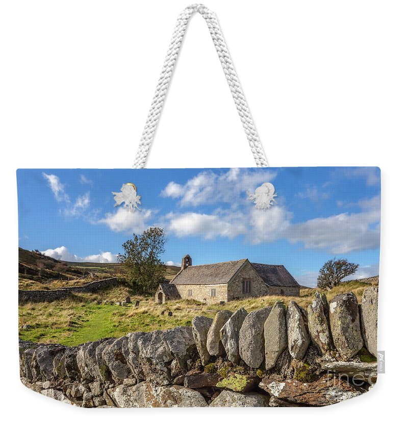 Welsh Church Weekender Tote Bag featuring the photograph Ancient Welsh Church by Adrian Evans
