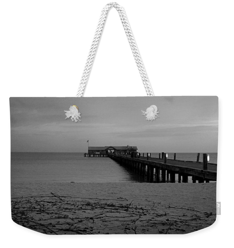 Anna Maria Weekender Tote Bag featuring the photograph And So It Begins Again by Michiale Schneider