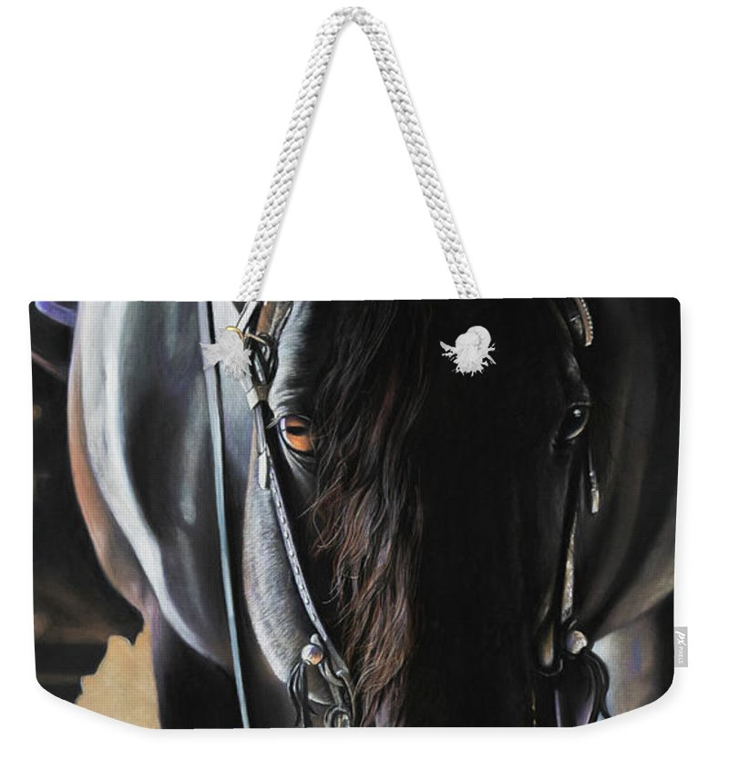 Equestrian Weekender Tote Bags