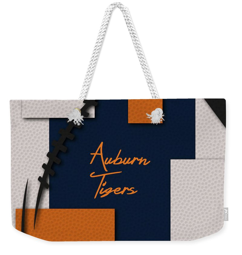 Tigers Weekender Tote Bag featuring the photograph Auburn Tigers by Joe Hamilton