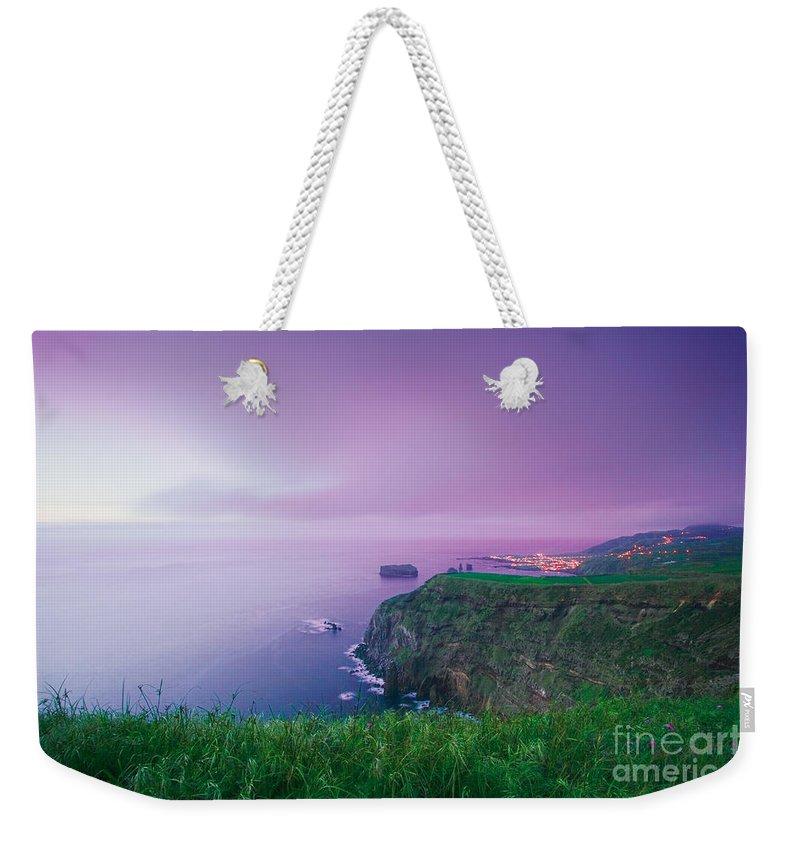 Azoren Weekender Tote Bag featuring the photograph Azores Coastal Landscape by Gaspar Avila