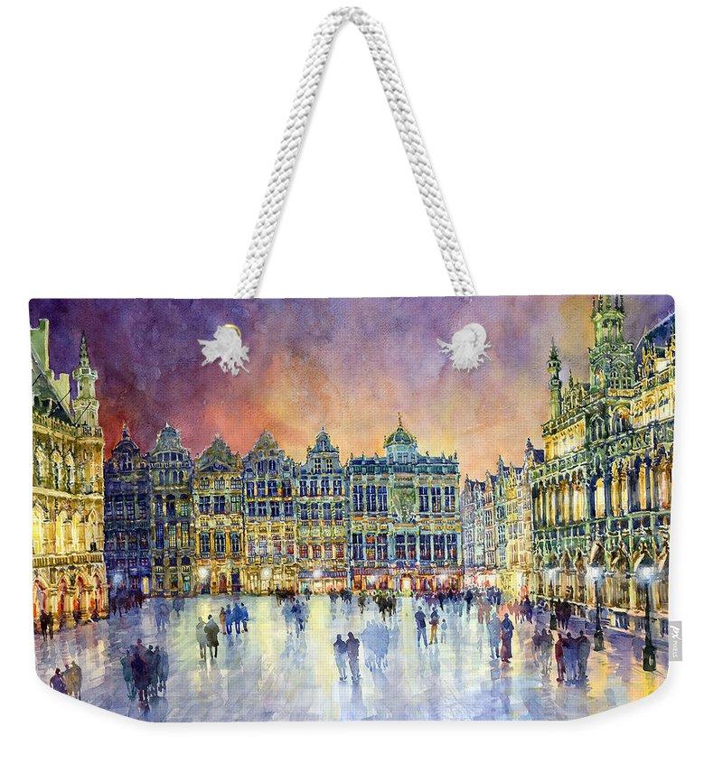 Streetscape Weekender Tote Bags