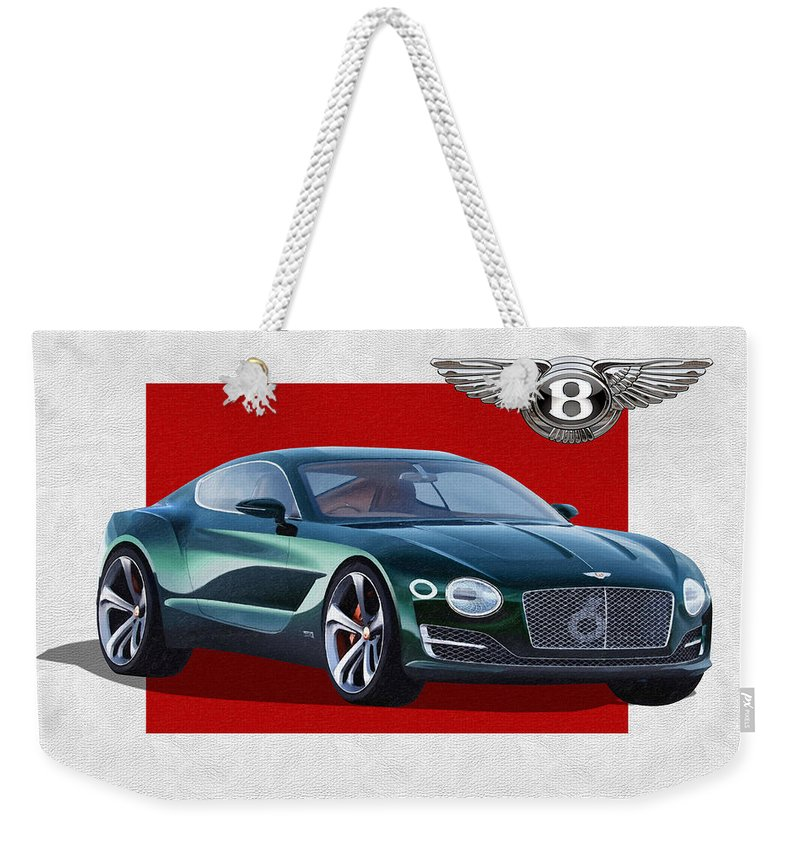 Bentley Motors Weekender Tote Bags