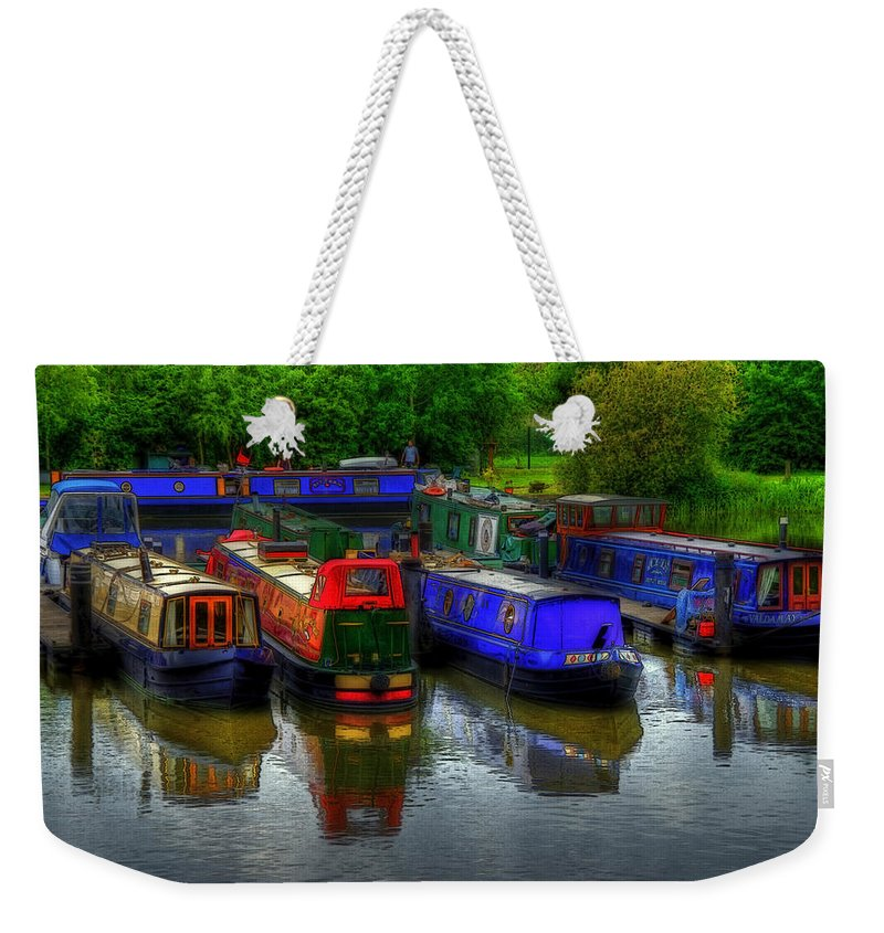 Boat Weekender Tote Bag featuring the photograph Boat Life by Svetlana Sewell