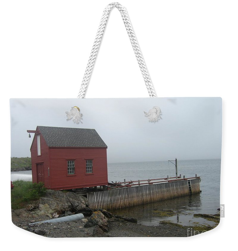 Photograph Bonavista Island Atlantic Ocean Newfoundland Weekender Tote Bag featuring the photograph Bonavista by Seon-Jeong Kim