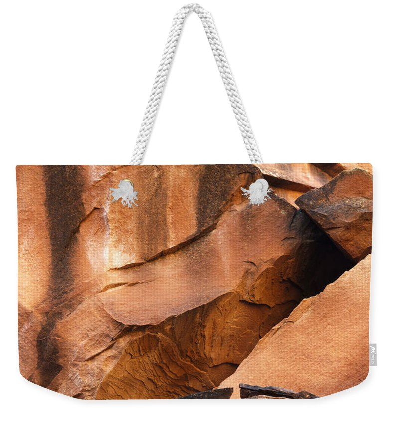 Canyon Weekender Tote Bag featuring the photograph Capitol Reef 9740 by Bob Neiman