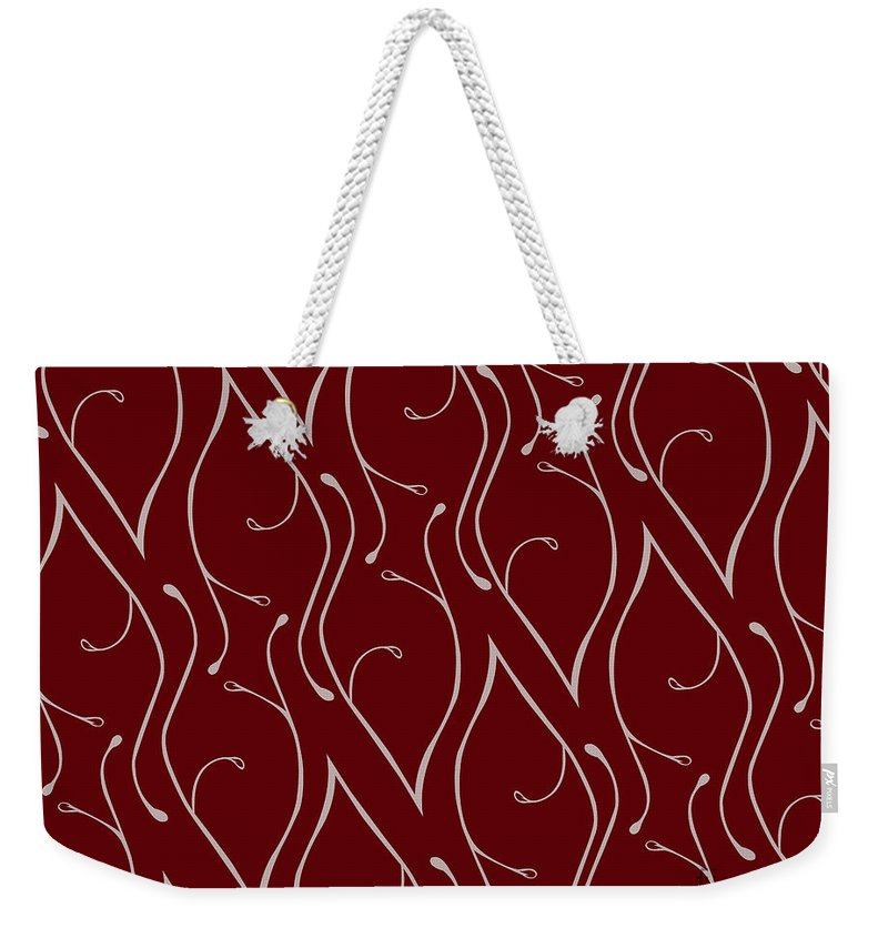 Weekender Tote Bag featuring the digital art Captivate by Jamie Lynn