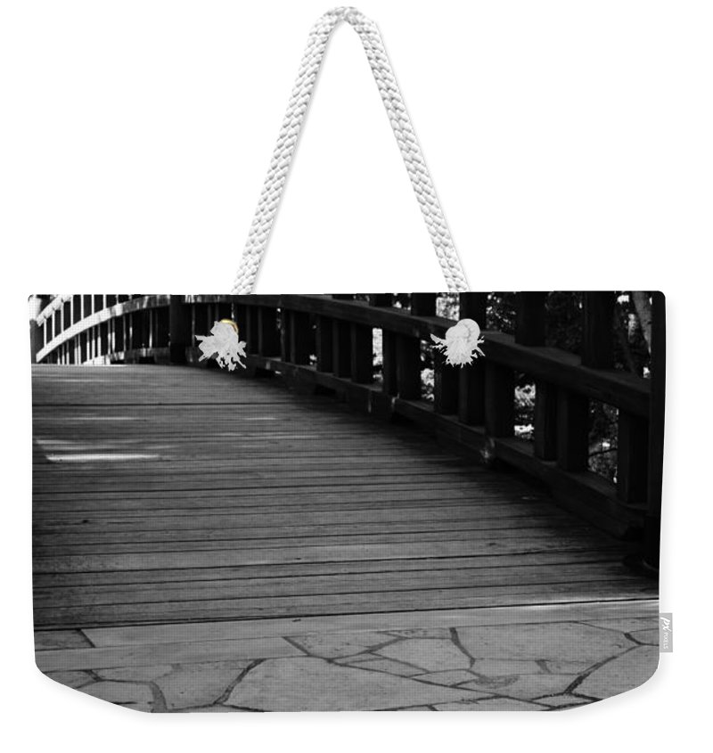 Weekender Tote Bag featuring the photograph Carry On by Jamie Lynn